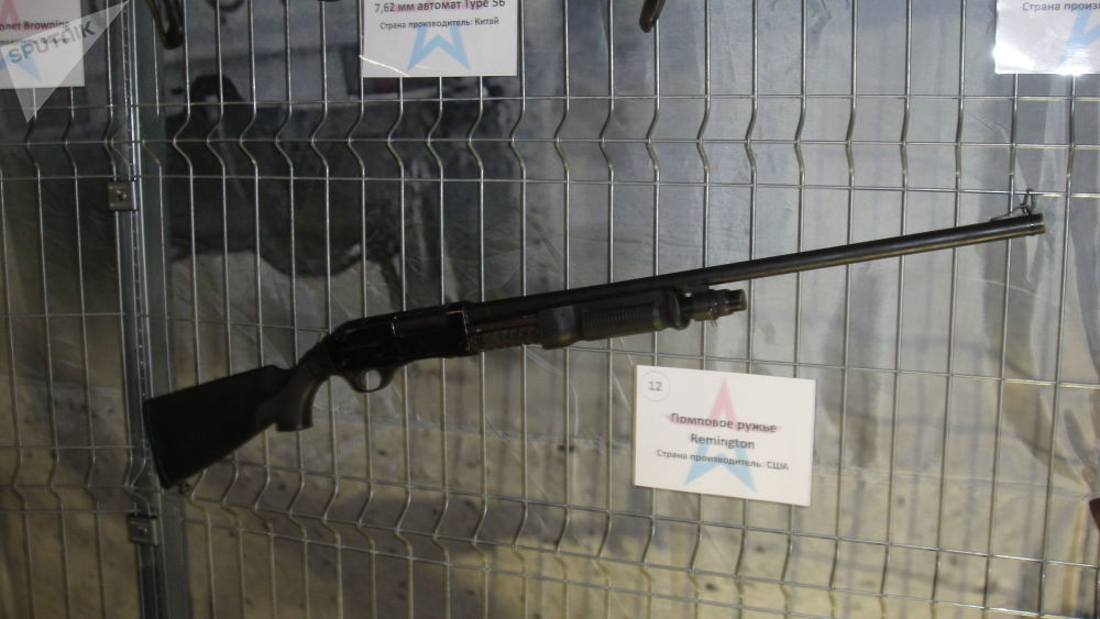 雷明顿泵动式枪支(美国)