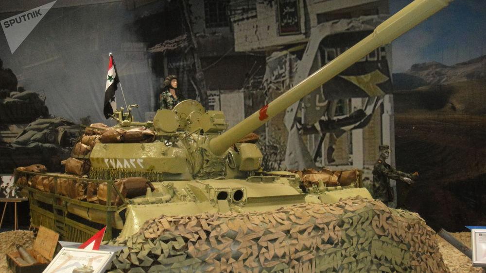 叙军T-55坦克