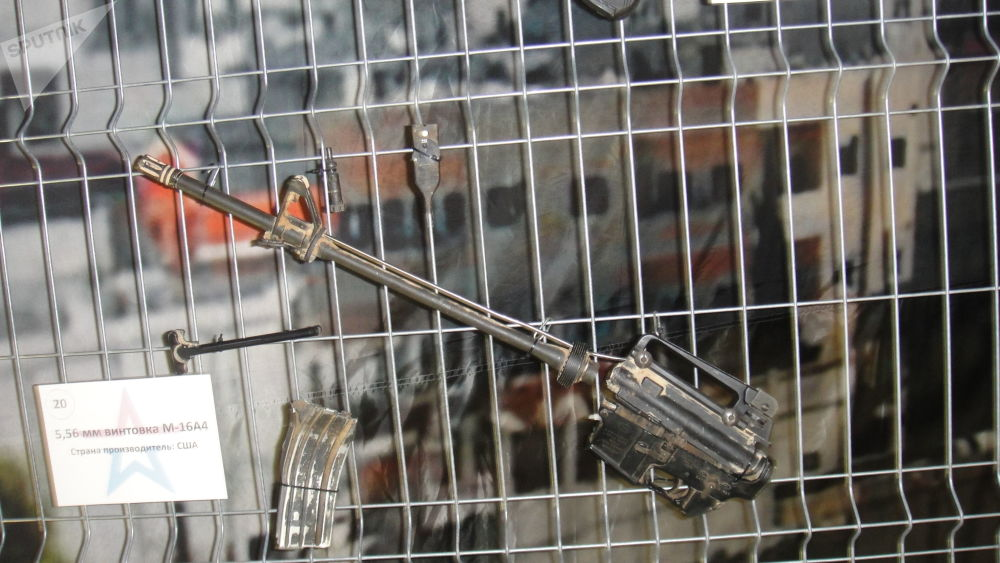 M16A4步枪残片(美国)