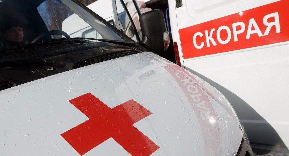 一輛搭載40名兒童的大巴在莫斯科近郊與一輛轎車相撞
