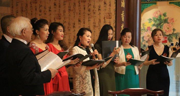 2016年5月7日欢庆胜利节和慰问老红军老华侨华人活动