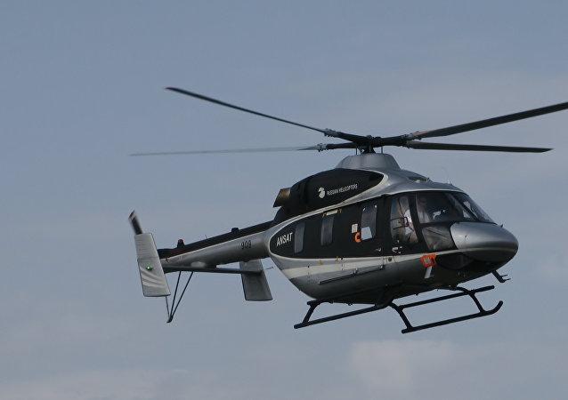 俄直升机公司2018年将在中墨对安萨特和米-171A2直升机开展认证工作