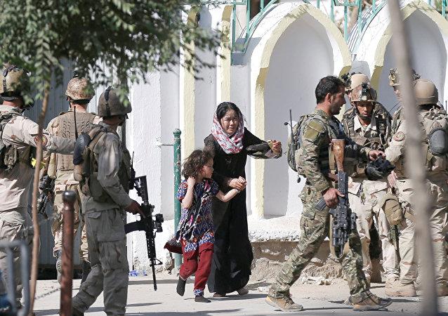 喀布尔清真寺袭击事件