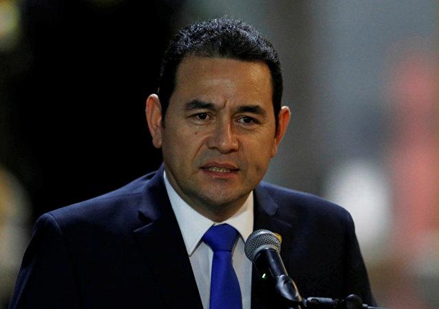 危地马拉总统吉米·莫拉莱斯