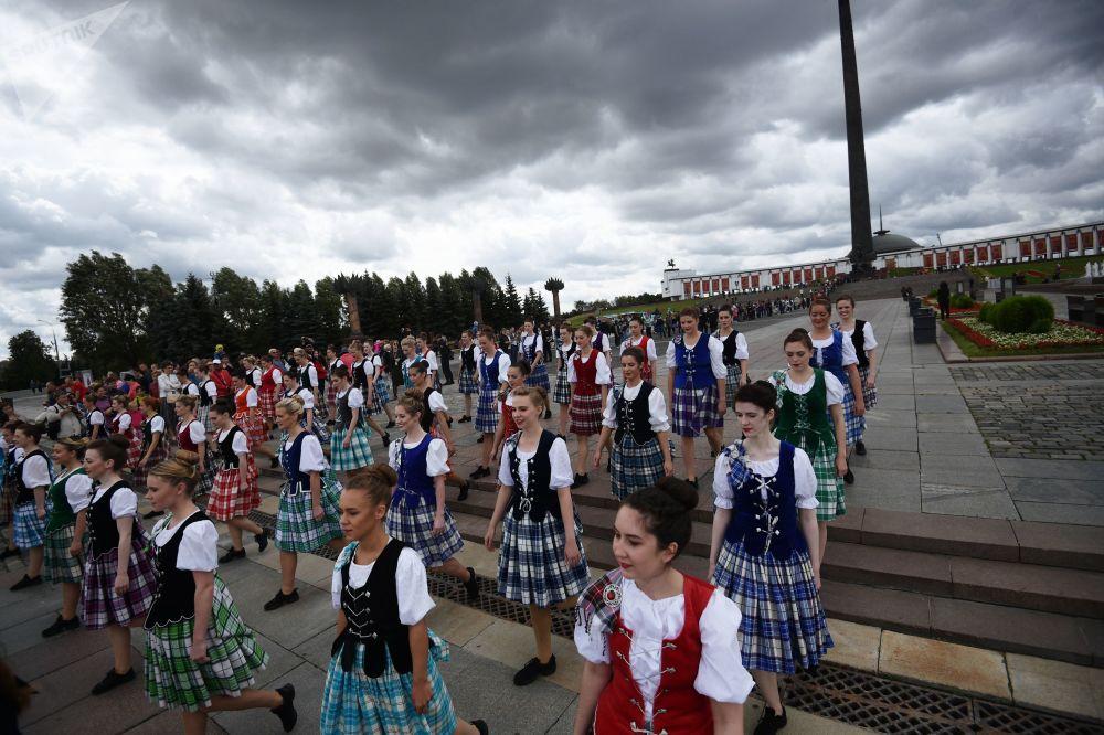 苏格兰舞蹈国际表演队