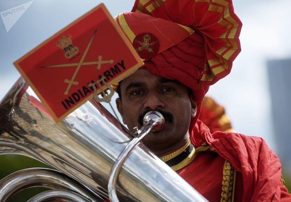 印度军乐团乐手
