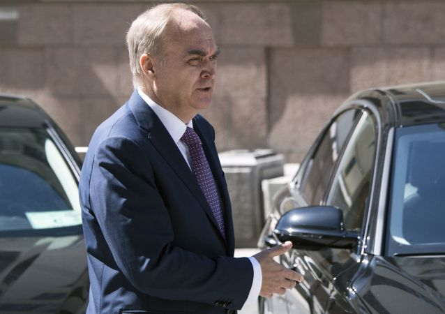 俄駐美大使:俄美軍事部門加強溝通符合雙方利益