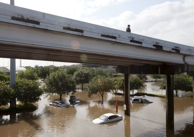 休斯顿洪水