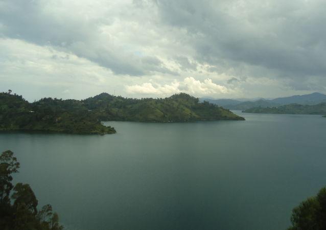 Озеро Киву, Руанда
