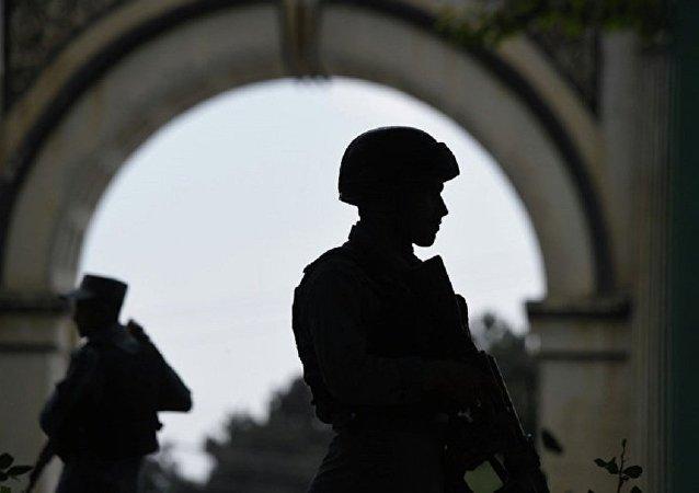 阿富汗因一警察局警长被扣留爆发抗议活动导致2人死亡