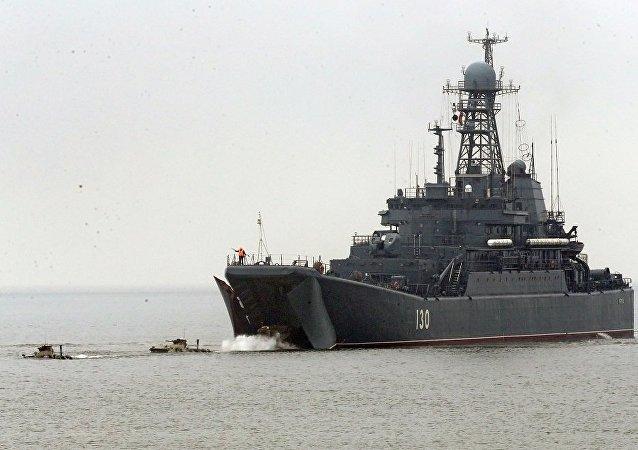 俄波羅的海艦隊舉行戰備檢查
