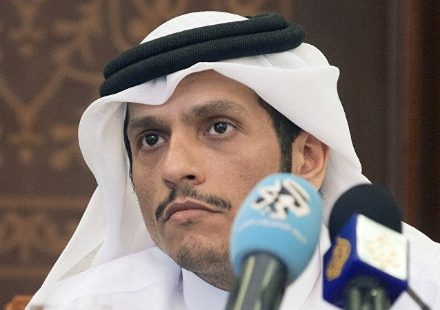 卡塔尔外长:多哈欢迎俄罗斯在海湾危机问题上的立场