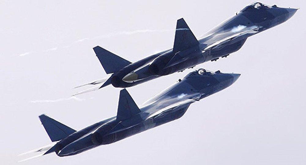 俄蘇-57戰機