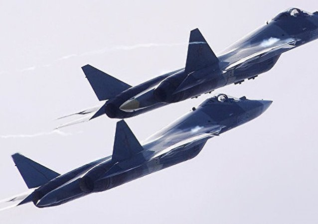 第五代战机苏-57