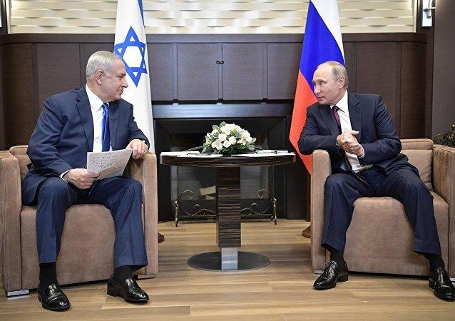 以总理访问俄罗斯