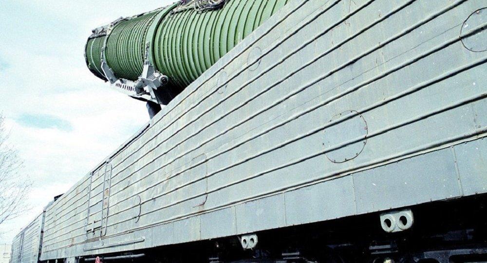 消息人士:俄將不會放棄研制導彈列車