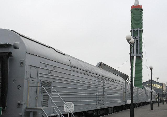 负有特殊使命的幽灵火车:俄罗斯铁路导弹作战系统