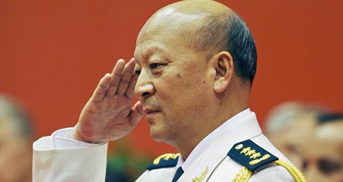 中國前海軍司令接受調查