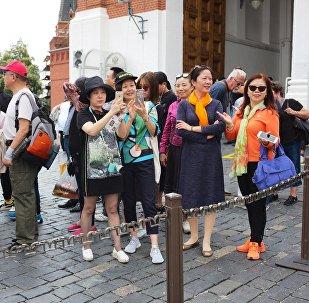 2017年中国免签赴俄游客同比增长20%