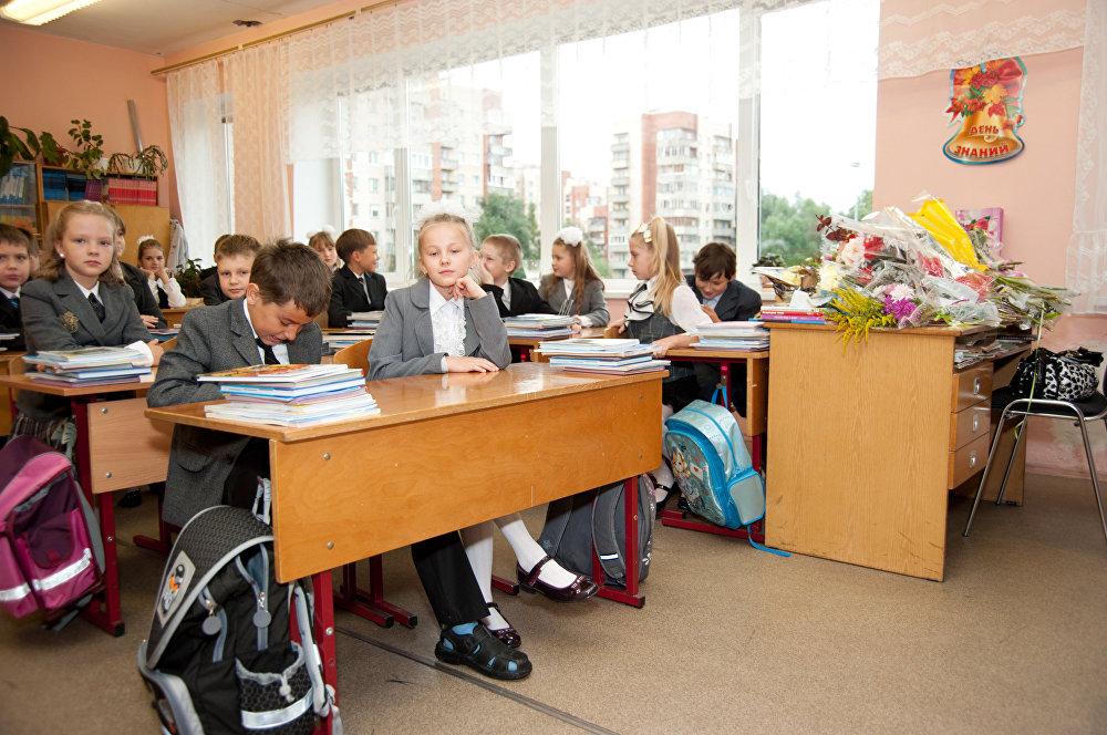 俄羅斯新學年起於9月1日