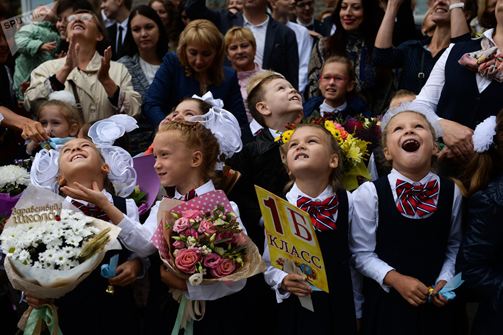 9月1日——俄羅斯知識日
