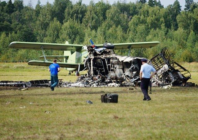 安-2飞机在莫斯科州坠落 两名飞行员死亡