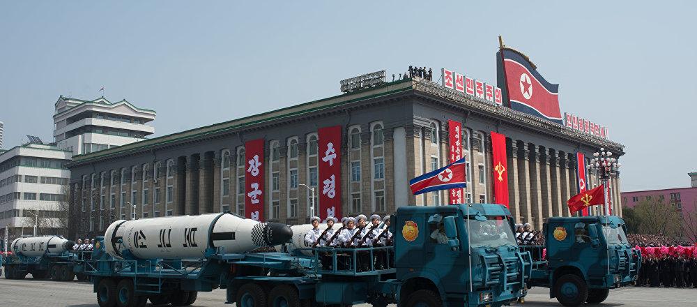 美国务卿:不会与像与伊朗一样达成朝核协议