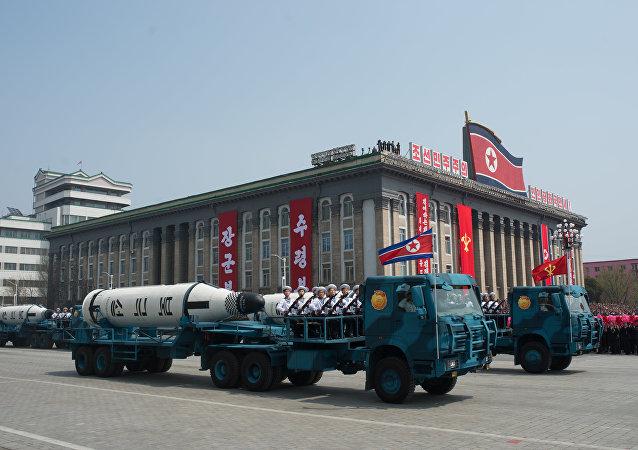 """朝鲜威胁要把美国变成""""火海"""""""