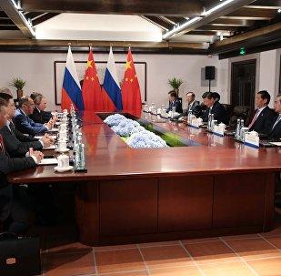 中俄不允许朝鲜半岛生乱