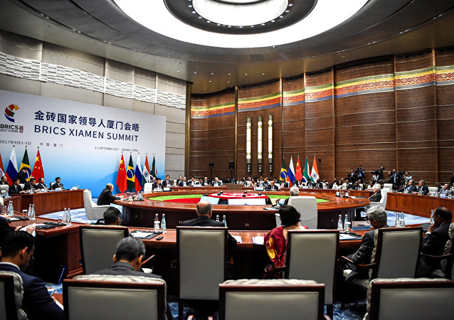 """中国外交部:""""金砖+""""合作模式是金砖国家共识"""