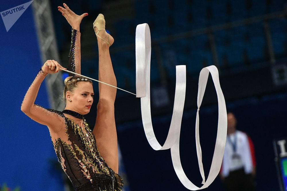 奥地利体操运动员尼克尔·鲁普雷希特(Nicol Ruprecht)