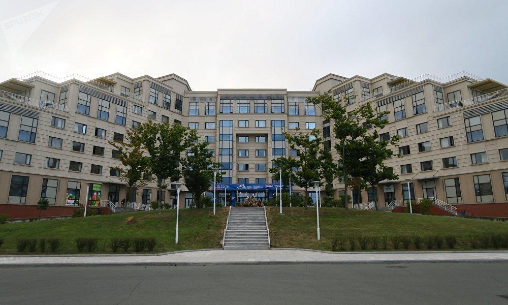 远东联邦大学校园内的宾馆