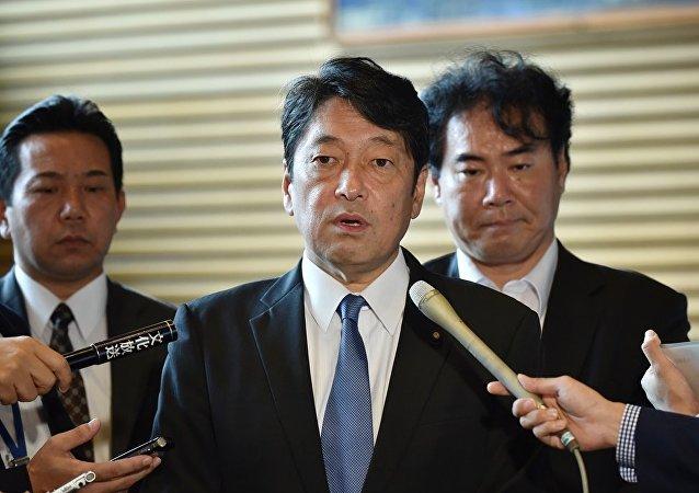 日本防卫大臣小野寺五典
