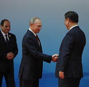 普京祝賀中國成功舉辦金磚國家領導人廈門峰會