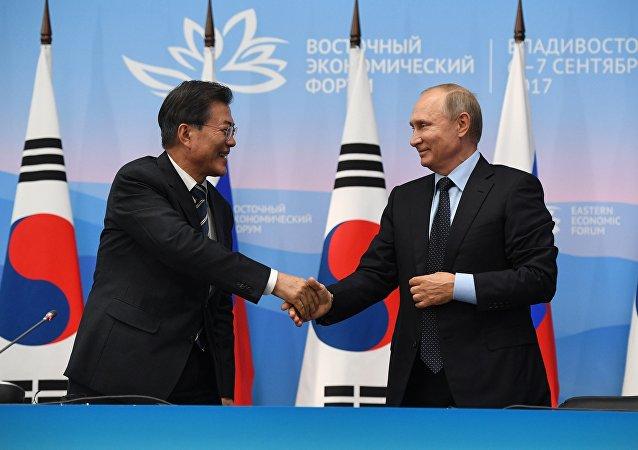 俄总统助理:俄韩总统会晤后两国在朝鲜问题上的立场有所拉近