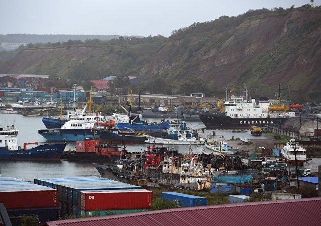 俄滨海边疆区企业与黑龙江签署港口产业集群建设协议