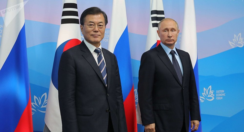 普京表示計劃於今年6月同韓總統討論朝鮮半島局勢
