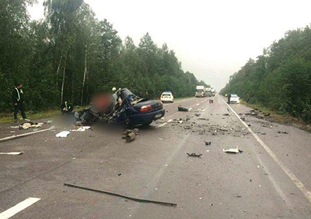 乌克兰发生车祸 5名死亡