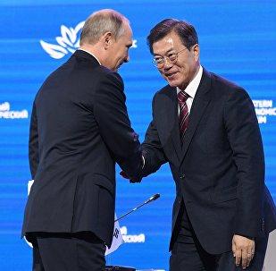韩总统称普京体内有阿穆尔虎之魂