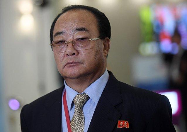 朝鲜对外经济相金英才