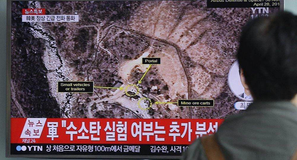 朝鲜外相称可能再次进行氢弹试验