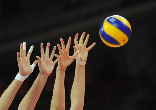 中国女排提前赢得2017年女排大冠军杯