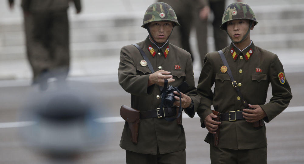 韩国提议朝鲜举行军事会谈