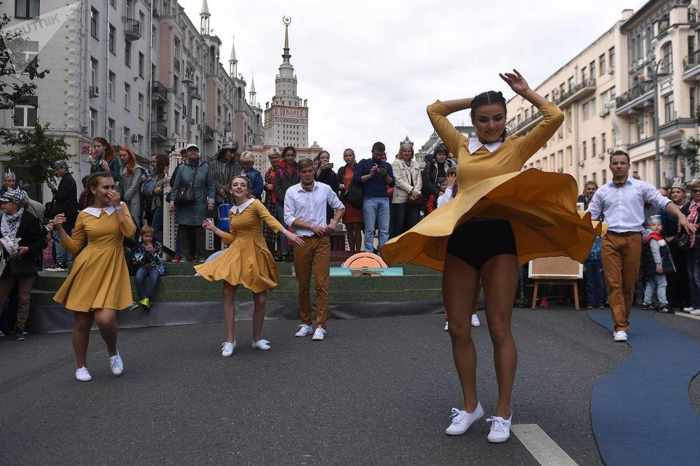 莫斯科慶祝城市日