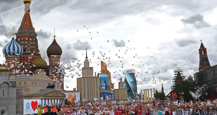 莫斯科庆祝城市日