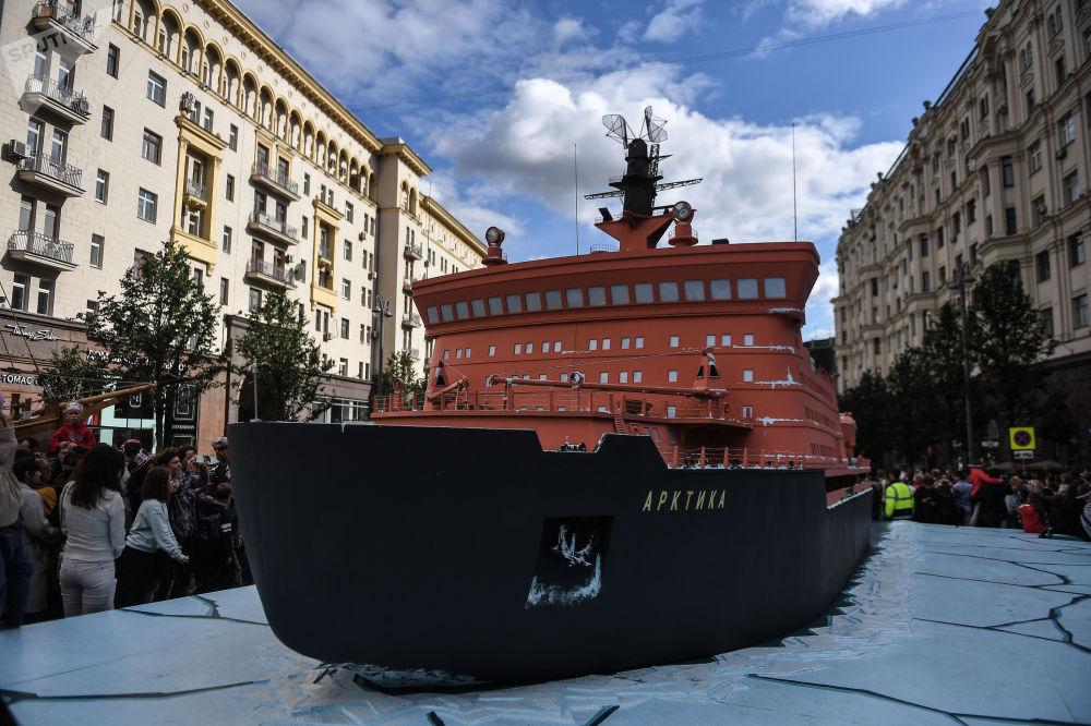 「北極」號破冰船模型