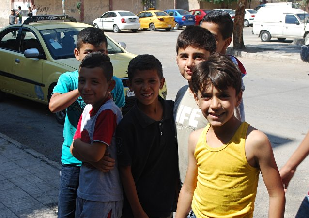 叙利亚孩子