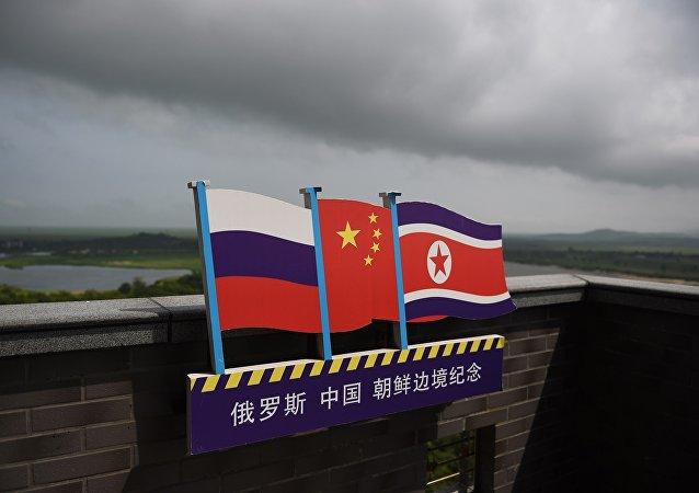 金正恩称朝鲜将发展与俄中的关系