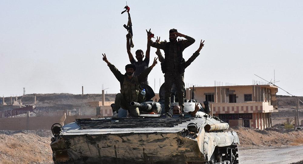叙利亚政府军队人员