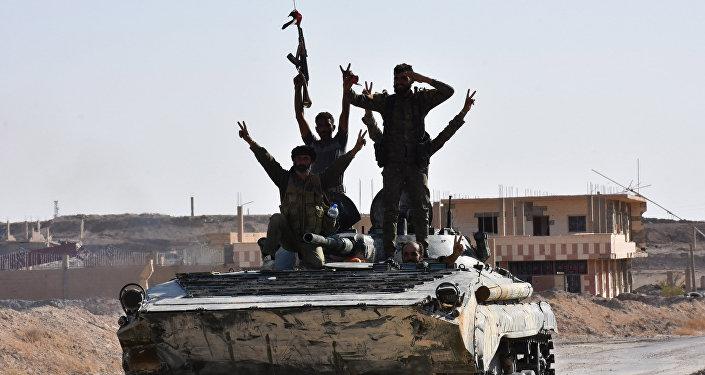 敘利亞政府軍隊人員